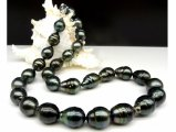 11-13.5 mm Drop Tahitian Pearl Necklace