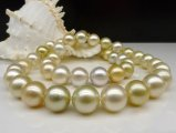 9-11 mm Mixed Color South Sea Pearl Necklace