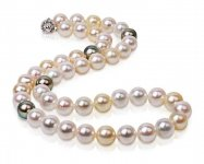 8-8.5 mm Akoya South Sea & Tahitian Pearl Necklace