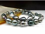 9 to 11 mm Baroque Tahitian Pearl Necklace