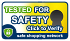 Safe Shopping Network Security Certificate