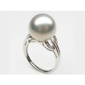 Hermosa South Sea Pearl and Diamond Ring