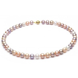 8-9 mm Multicolor Freshwater Pearl Necklace