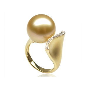 Armelle South Sea Pearl and Diamond Ring