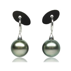 Calvin Tahitian Pearl Dangle Earrings