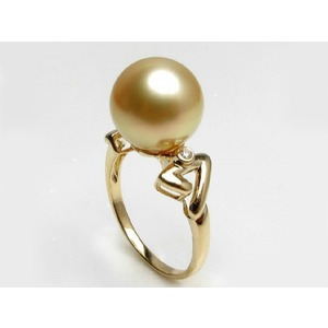 South Sea Pearl & Diamond Rings