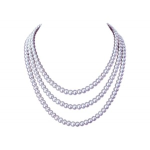 Triple Strand 6-6.5 mm Akoya Pearl Necklaces
