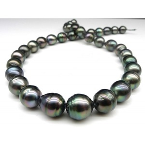9-11 mm Baroque Tahitian Pearl Necklace