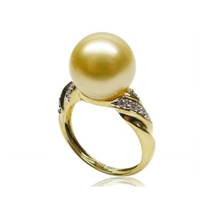 Constance South Sea Pearl and Diamond Ring