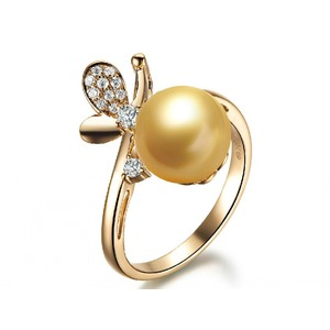 Thylane South Sea Pearl and Diamond Ring
