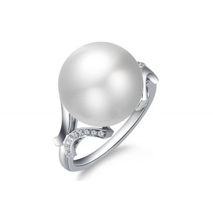 Louisette South Sea Pearl and Diamond Ring
