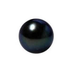 Black Freshwater Pearl Round