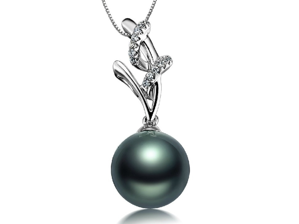 blk diamond jupiter tassel necklace sapphire pearl emerald onyx